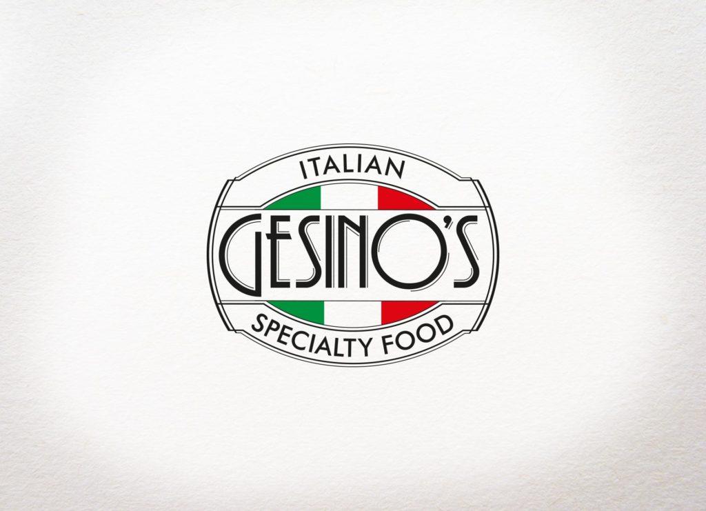 Logo design per Gesino's realizzato da Grafica Manent