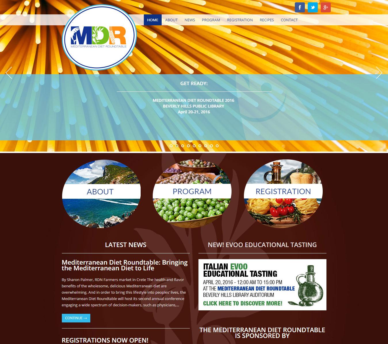 MDR-homepage