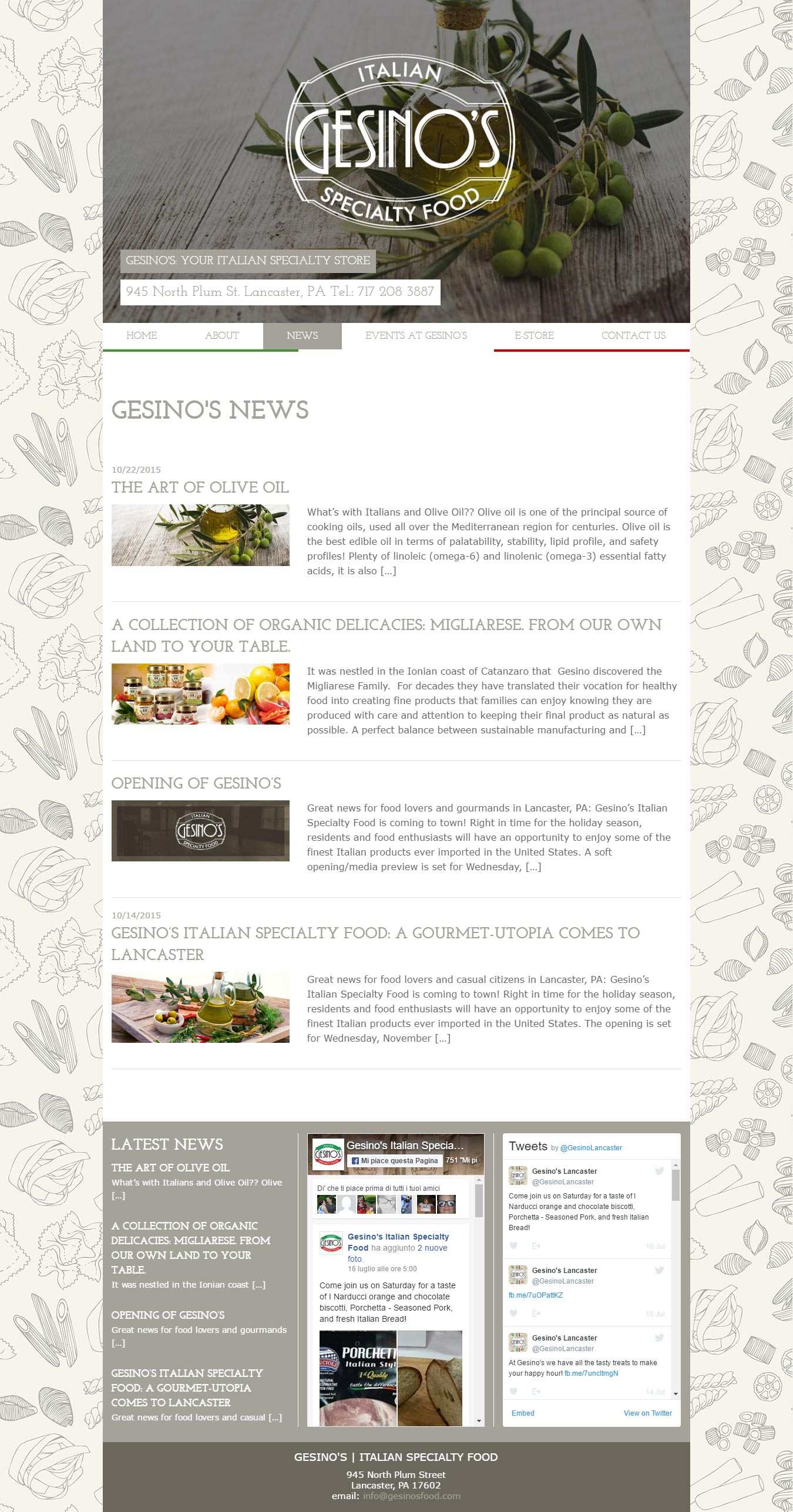 gesinosfood-news